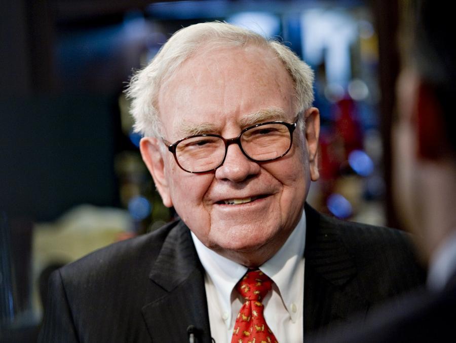 Warren Buffett zarabia 100 tys. dol. rocznie jako prezes Berkshire