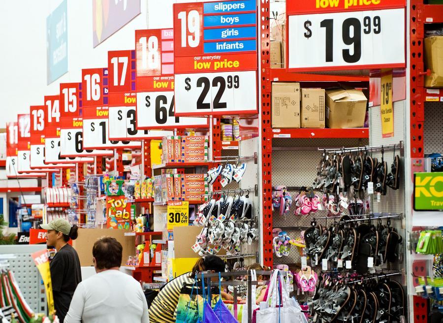 Warehouse to najpopularniejsza w Australii sieć dyskontowa.