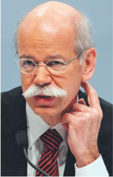 Dieter Zetsche Fot. Bloomberg