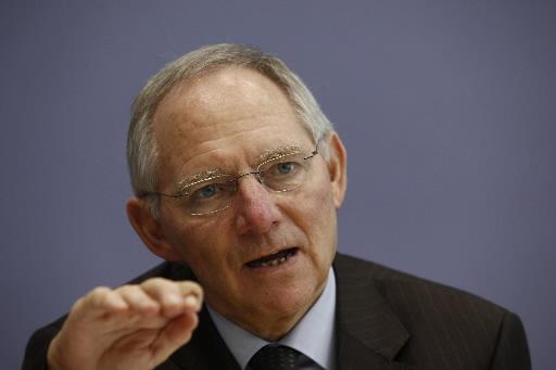 Wolfgang Schaeuble, minister finansów Niemiec