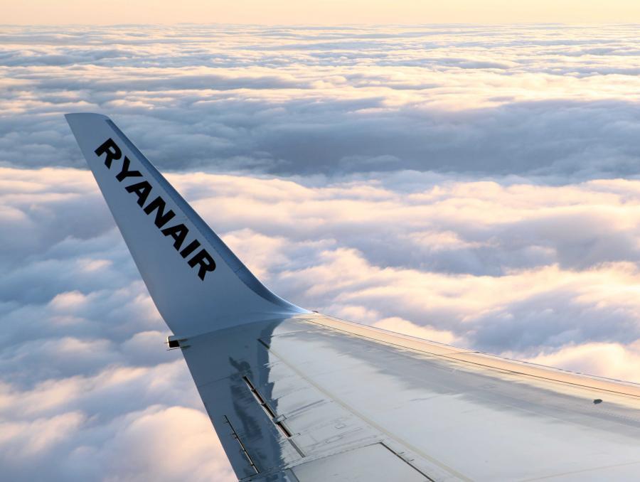 Irlandzki Ryanair w tym roku stanie się największym przewoźnikiem Europy, wyprzedzając Lufthansę i Air France.