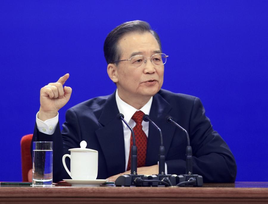 Wen Jiabao, premier Chin, odmawia wzmocnienia juana