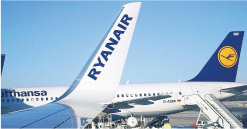 W całej Europie Irlandczycy mają 41 baz lotniczych Fot. BE&W