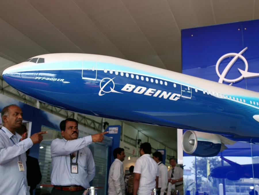 Model Boeinga 777