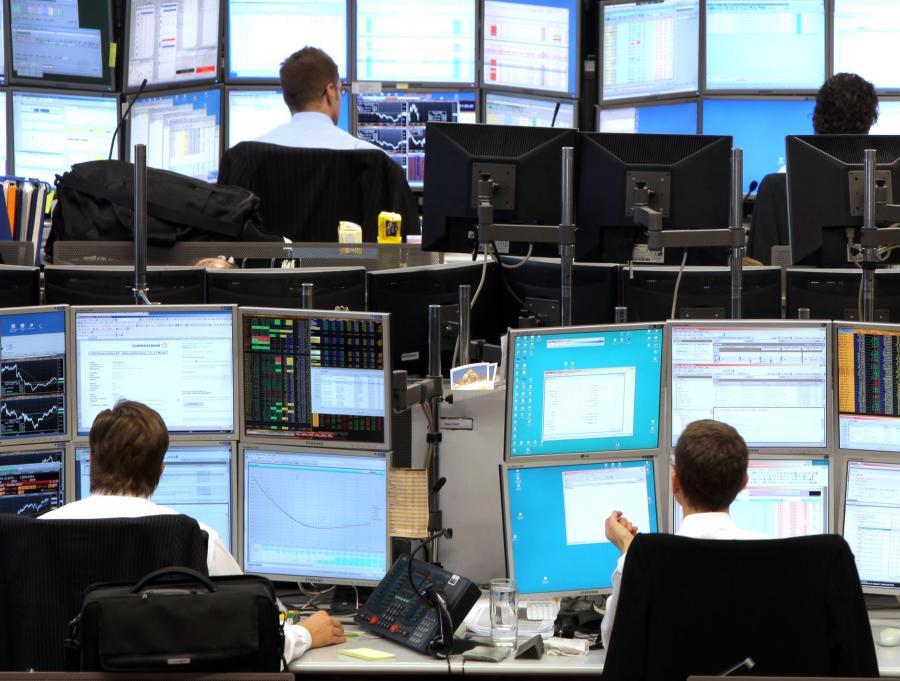 Traderzy niemieckiego Commerzbanku
