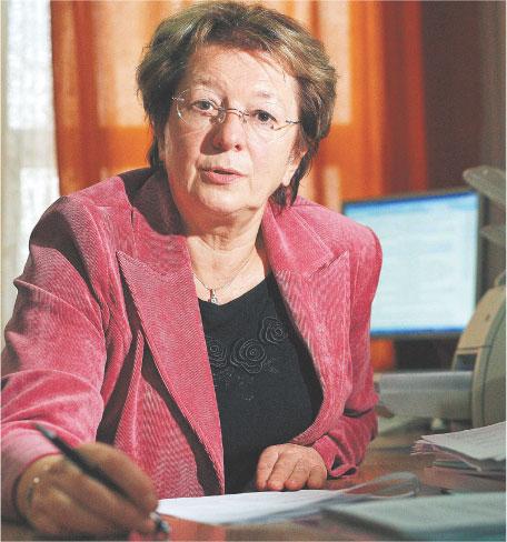 Irena Kotowska, kierownik Zakładu Demografii Szkoły Głównej Handlowej w Warszawie Fot. Michał Kołyga