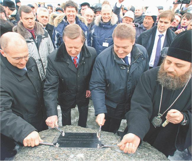 25 lutego rozpoczęła się budowa nowej elektrowni atomowej koło Kaliningradu Fot. Forum