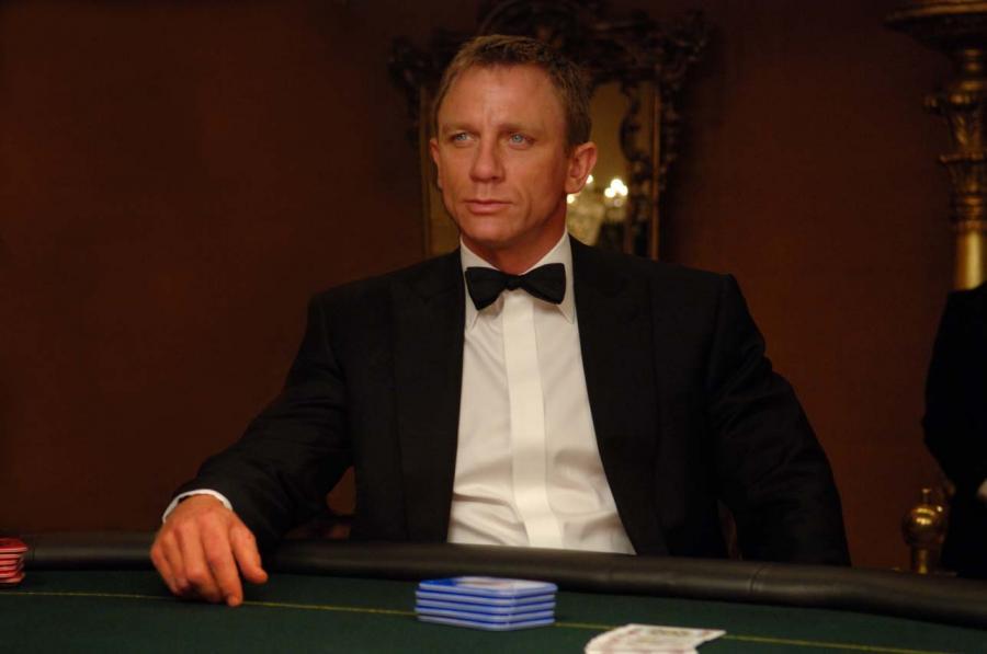 Najsłynniejszy, brytyjski agent tajnych służb -  James Bond