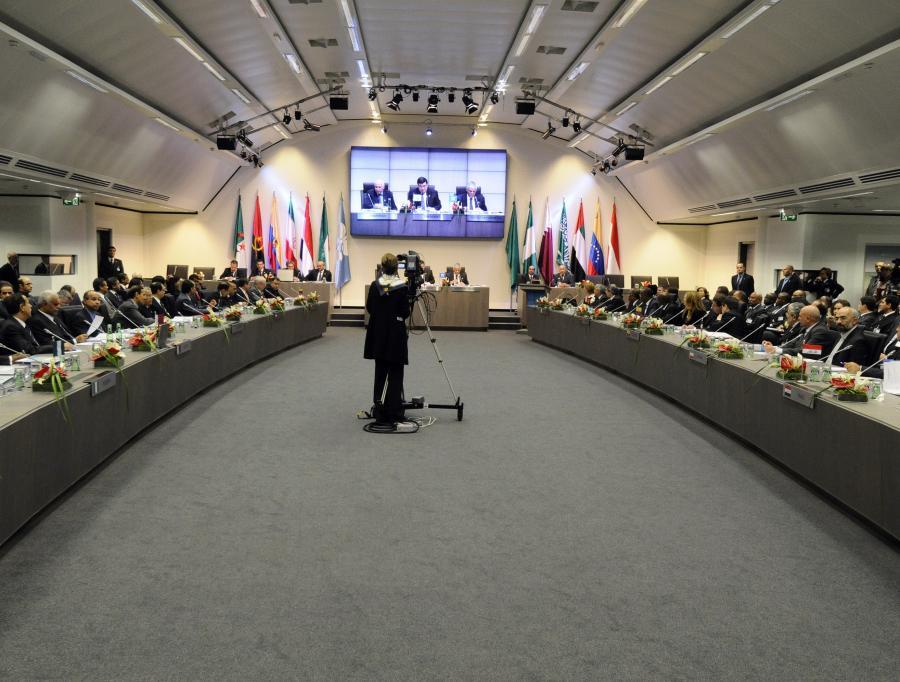 Posiedzenie przedstawicieli krajów należących do OPEC