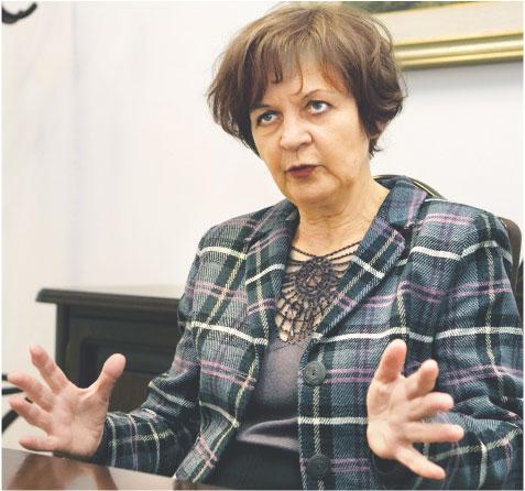 Anna Zielińska-Głębocka, zasiada w Radzie Polityki Pieniężnej Fot. Wojciech Górski