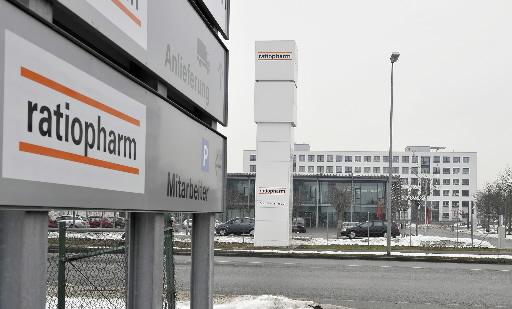 Siedziba niemieckiej spółki farmaceutycznej  Ratiopharm w Ulm.