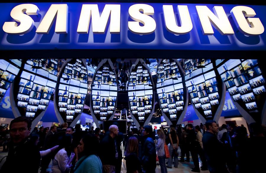 Samsung Electronics na International Consumer Electronics Show w Las Vegas