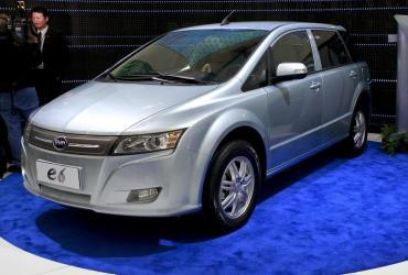 Elektryczny model E6 chińskiego koncernu BYD będzie sprzedawany od przyszłego roku także w Europie