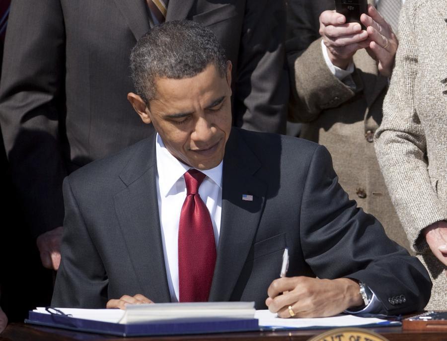 Barack Obama ma powody do zadowolenia- wkrótce podpisze ustawę o reformie opieki zdrowotnej