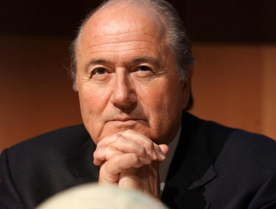 Sepp Blatter, były prezydent FIFA