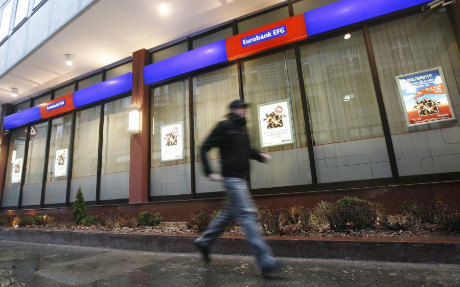 Grecki Eurobank EFG jest właścicielem Polbanku