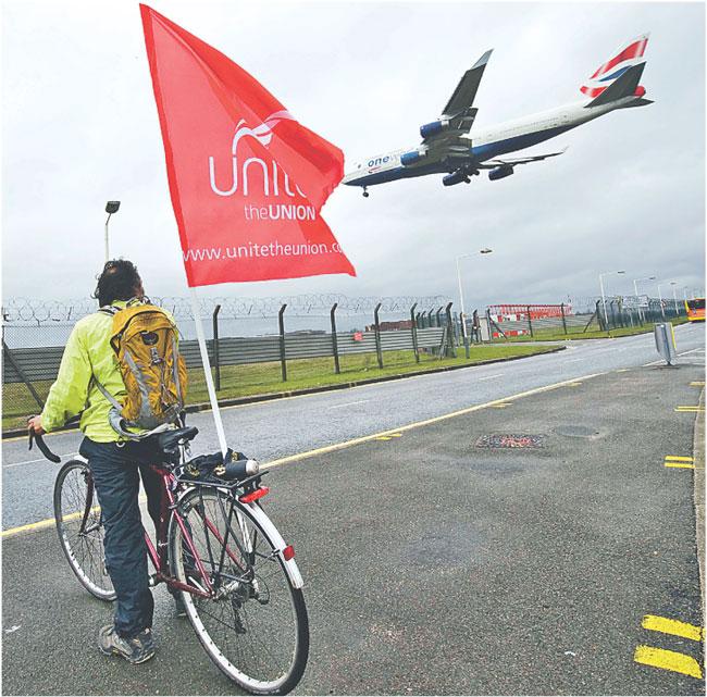 Związki zawodowe zapowiadają następny strajk w British Airways na 27 marca Fot. AP