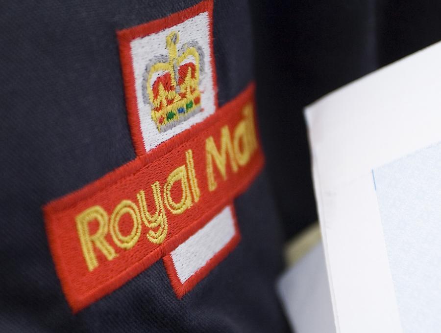 Logo brytyjskiej poczty Royal Mail