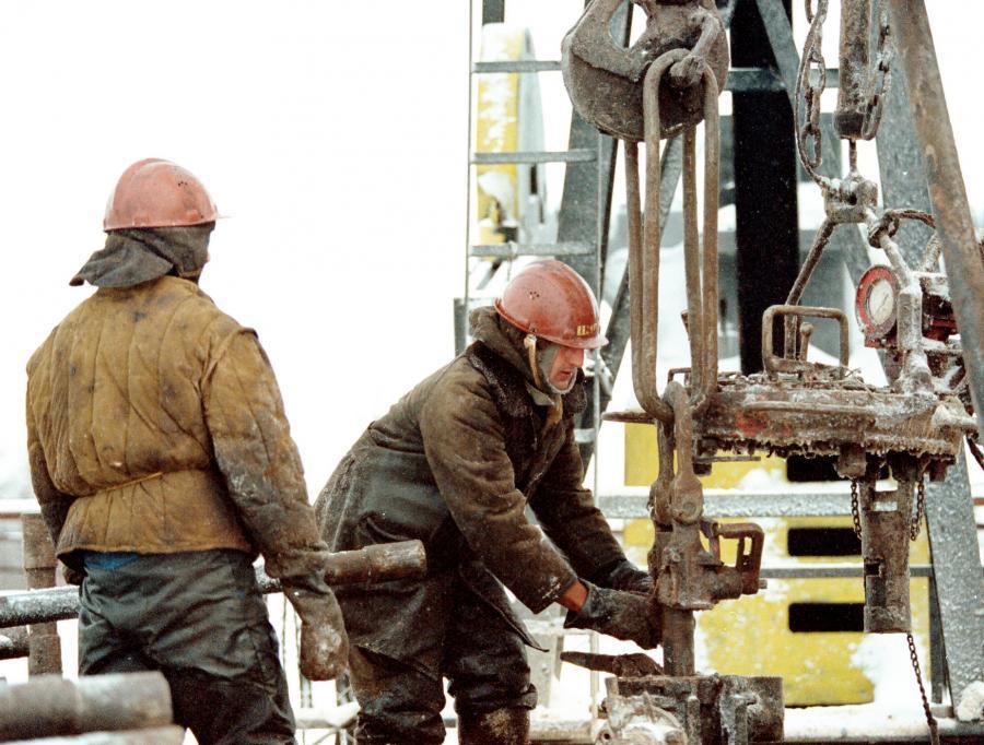 Wydobycie ropy na Syberii