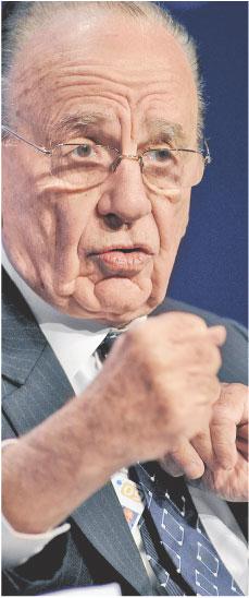 Rupert Murdoch Fot. Bloomberg