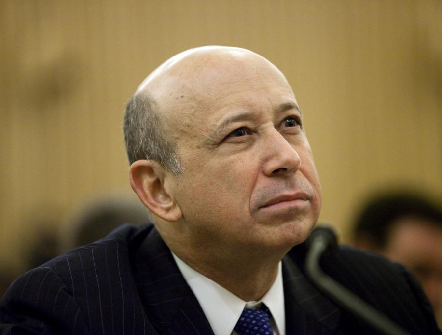 Lloyd Blankfein, prezes Goldman Sachs