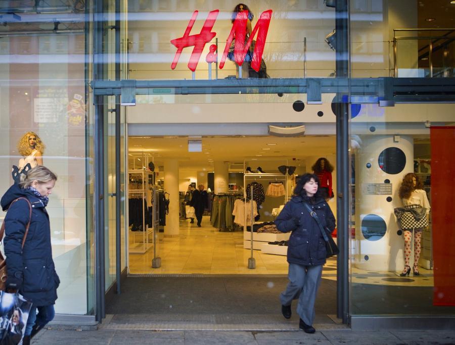 Sklep odzieżowy H&M