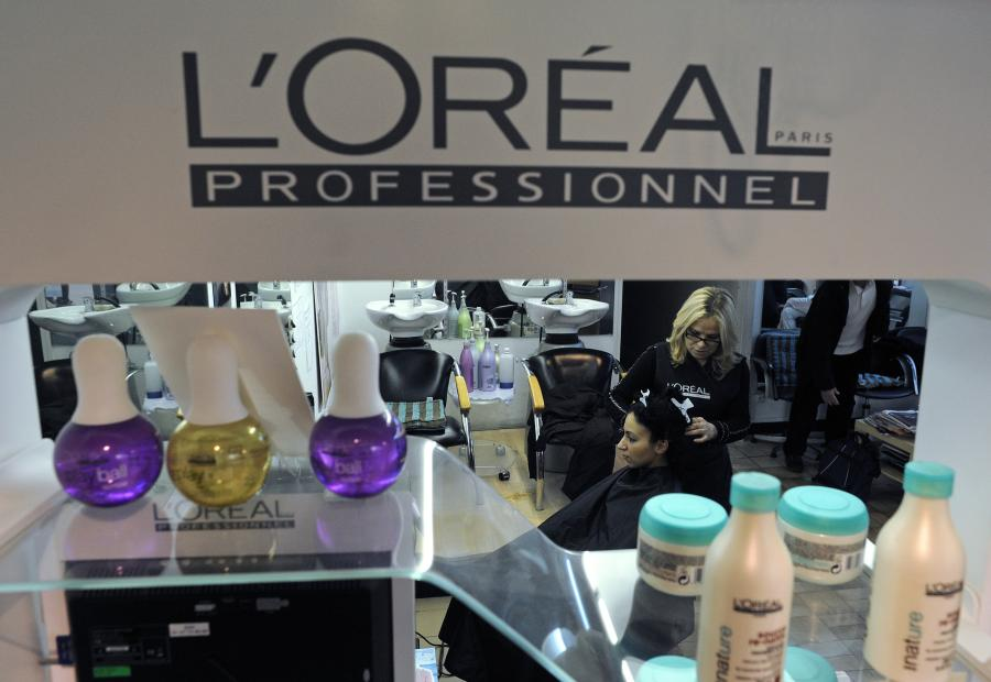 Loreal to obecnie największa firma zajmującą się produkcją kosmetyków
