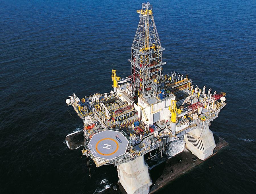 Należąca do koncernu BP platforma wiertnicza Deepwater Horizon