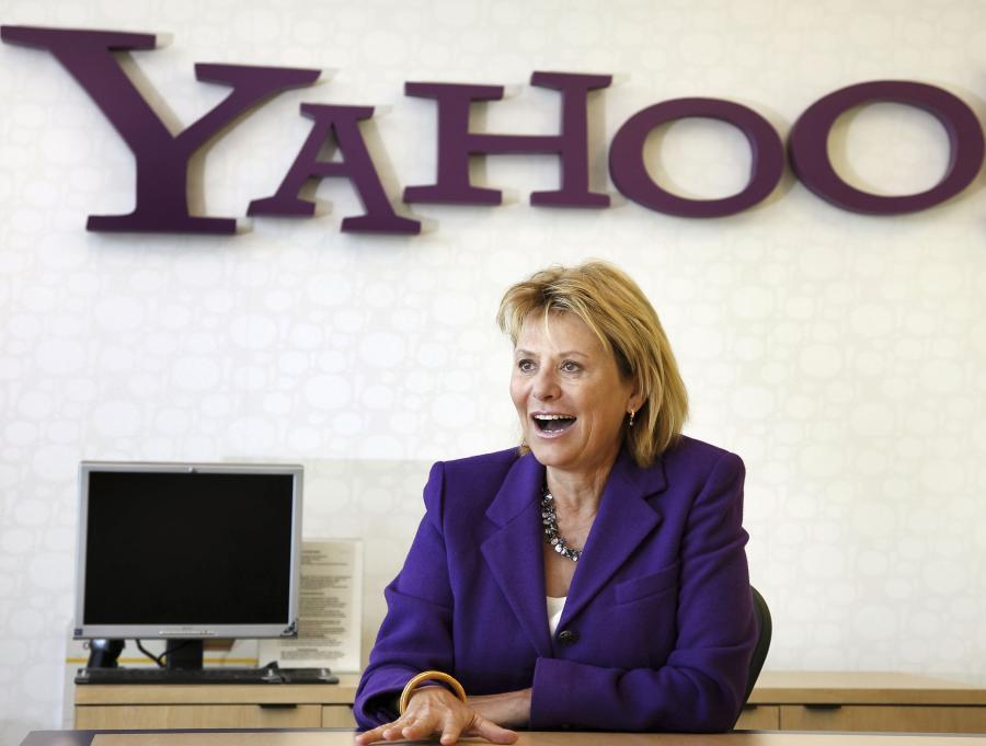 Carol Ann Bartz, szefowa Yahoo