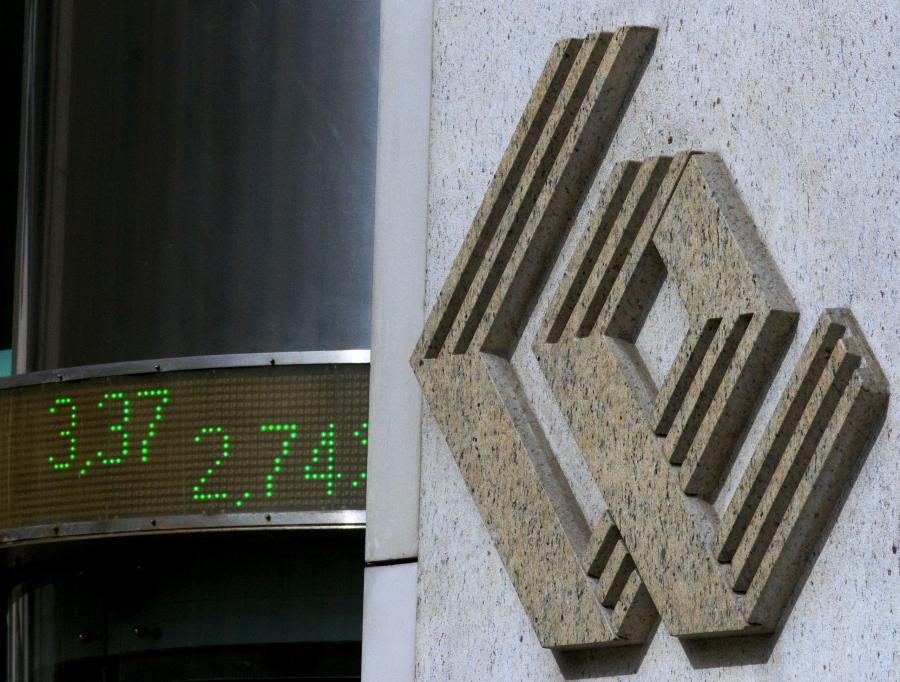 Logo warszawskiej giełdy