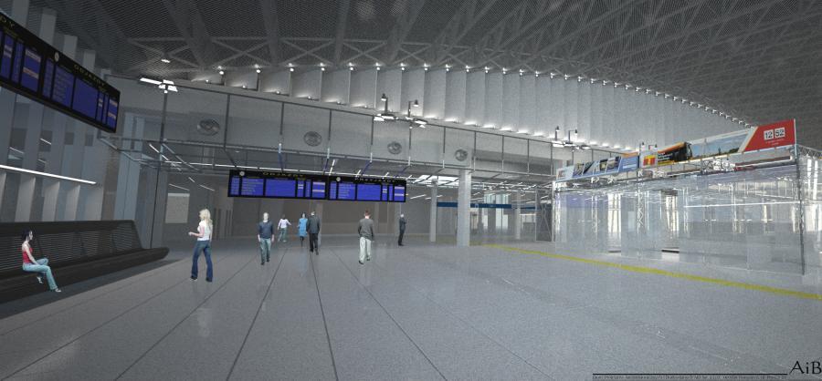 Dworzec Warszawa Wschodnia po modernizacji. Fot. materiały prasowe PKP