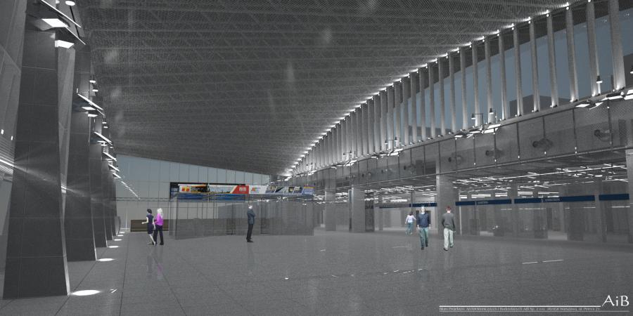 Dworzec Warszawa Wschodnia po modernizacji, hala główna. Fot. materiały prasowe PKP