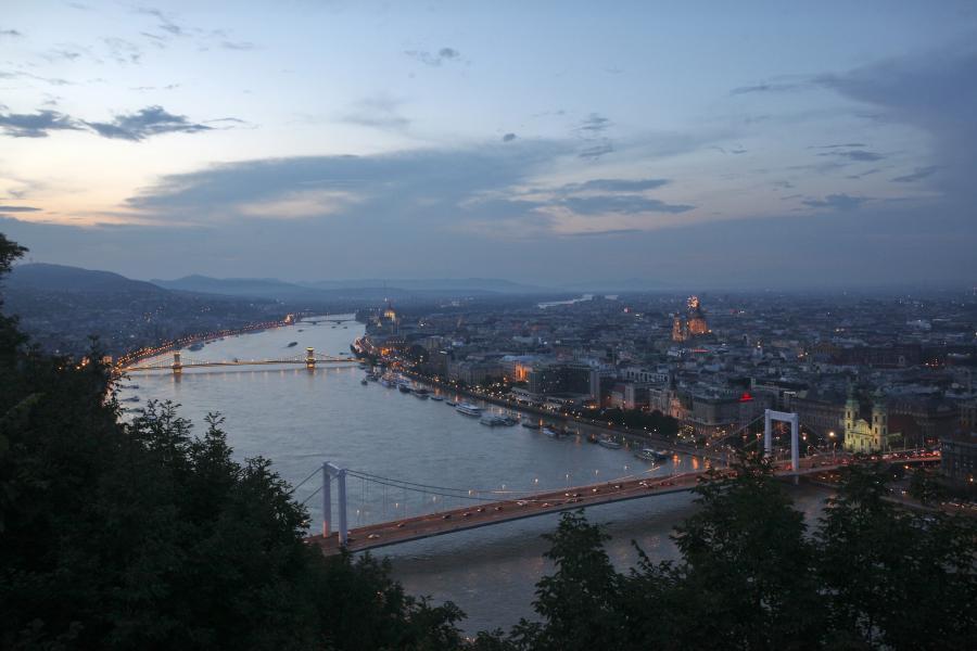 Panorama Budapesztu, stolicy Węgier. Fot. Bloomberg