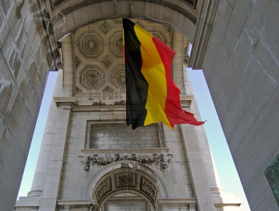 Flaga belgijska