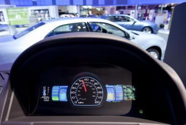 Deska rozdzielcza Forda Fusion Hybrid