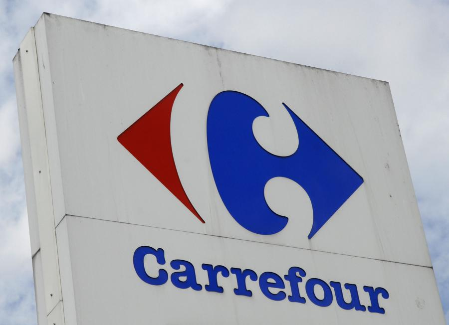 Logo sieci Carrefour