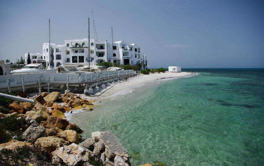 Port w El Kantaoui w Tunezji, źródło: flickr, autor: eugenijusr, Licencja: Attribution-ShareAlike 2.0 Generic