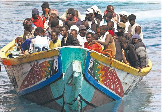 Najwięcej imigrantów przybywa do Europy z Afryki