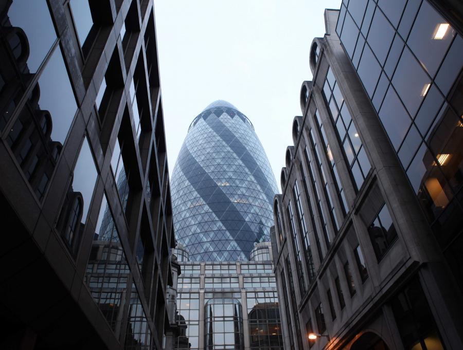 Siedziba Swiss Re w Londynie