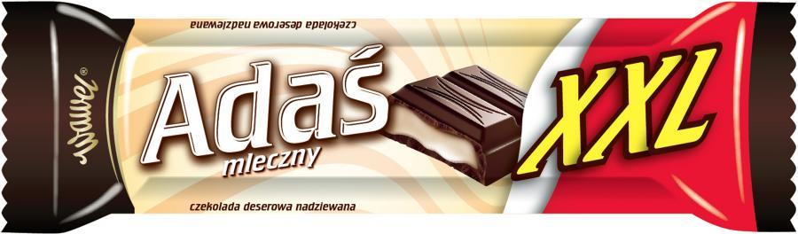 Baton czekoladowy Adaś firmy Wawel. Fot. materiały prasowe