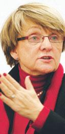 Danuta Hubner, komisarz UE ds. polityki regionalnej