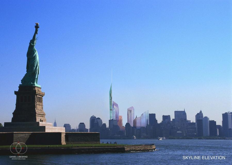 Wizualizacja nowego kompleksu w miejscu World Trade Center