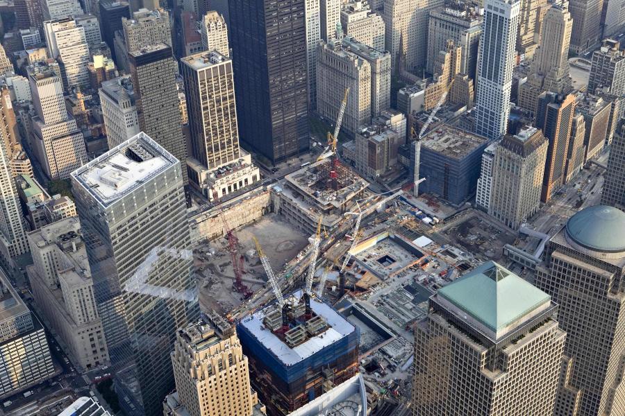 Budowa nowych wieżowców w miejscu World Trade Center