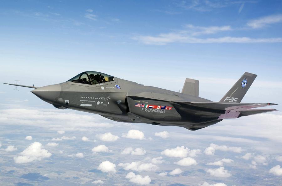F- 35 Lightning II - samolot koncernu Lockheed Martin