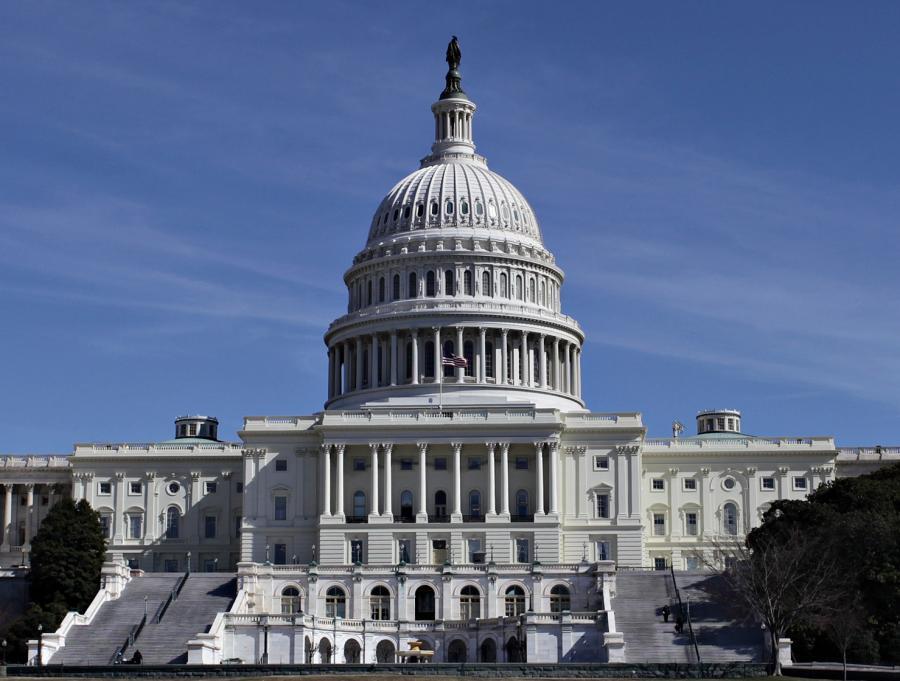 Siedziba amerykańskiego Kongresu na Capitol Hill w Waszyngtonie