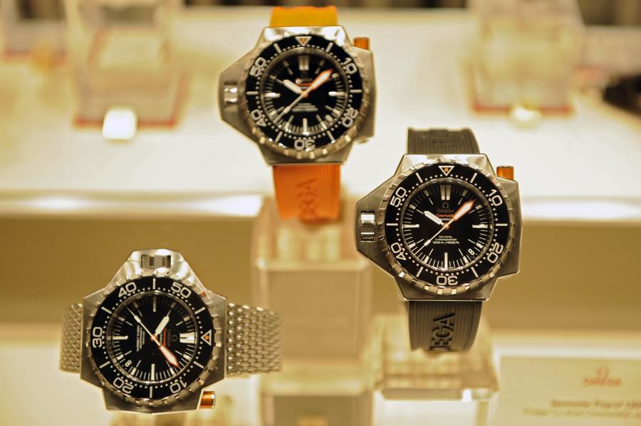 Zegarki Omega na targach Baselworld w Bazylei