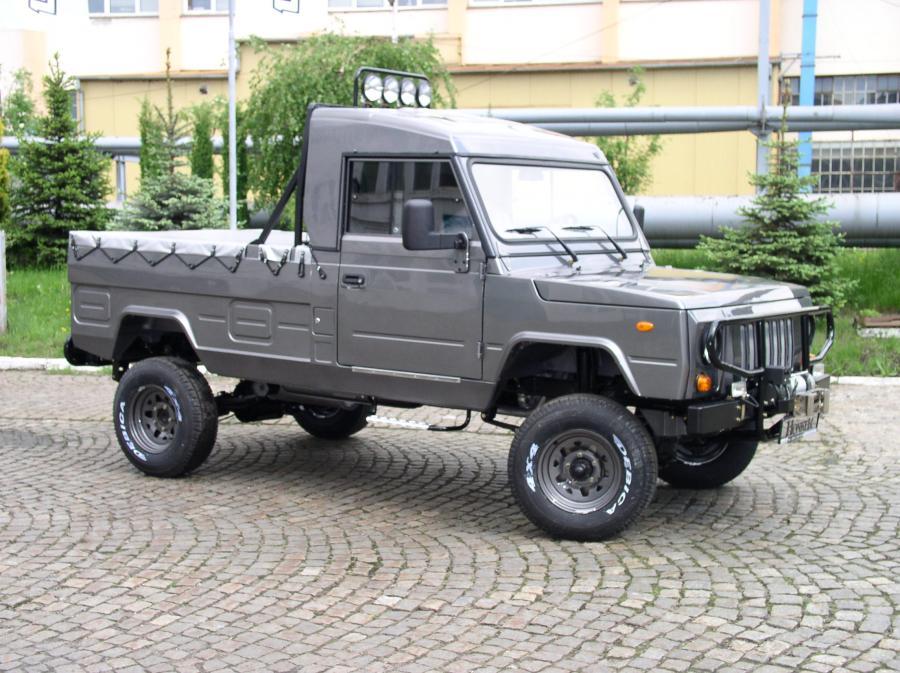 Honker pick up. fot. materiały prasowe producenta DZT Tymińscy