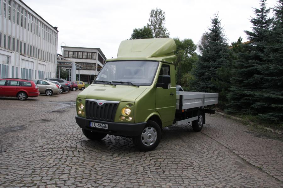 Pasagon truck widok z przodu (1). fot. materiały prasowe producenta DZT Tymińscy