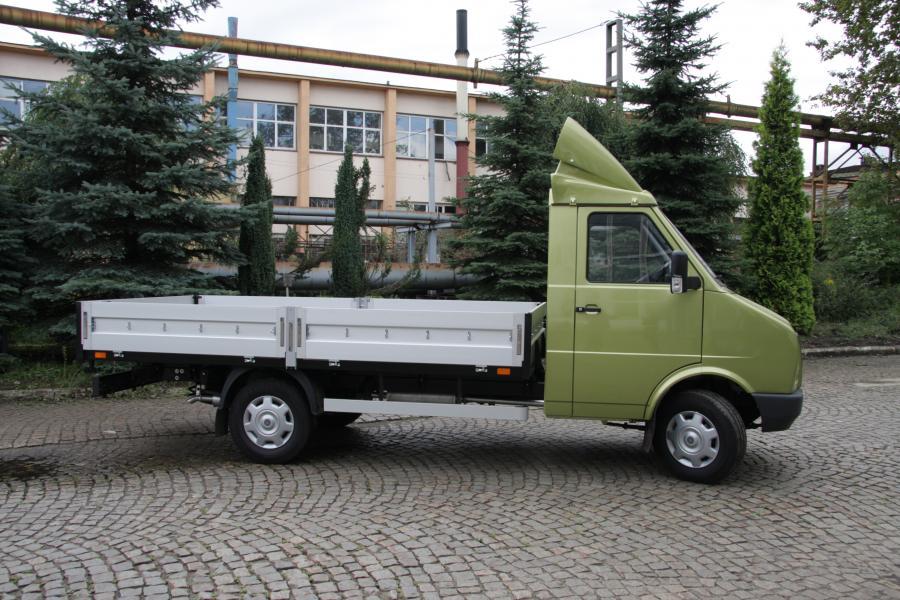Pasagon truck widok z boku (2). fot. materiały prasowe producenta DZT Tymińscy