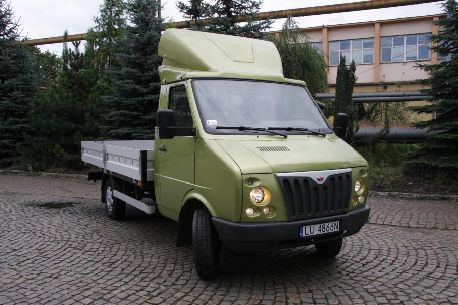 Pasagon truck widok z przodu (2). fot. materiały prasowe producenta DZT Tymińscy